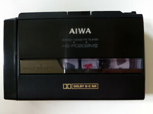 AIWA HS-PC202MII Dolby B-C Kassettenplayer, Riemen neu, überholt, wie Walkman