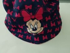 465db0b9 Toddler Girls Disney Minnie Mouse Navy Blue & Pink Reversible Bucket Hat  OSFM