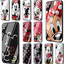 COVER DISNEY VETRO TEMPERATO IPHONE 6 6S 7 8 PLUS X XS XS MAX XR 11 PROMAX