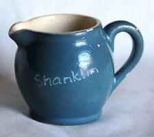 Vintage Devon Pottery Blueware Jug - Shanklin