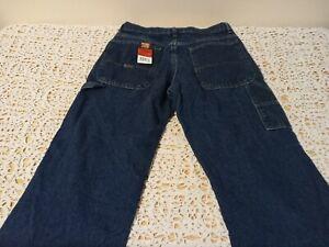 New Boys Jeans Adjustable Waist Wrangler Size 16 Husky Carpenter
