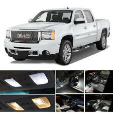White LED interior lights package kit for 2000-07 Malibu 10 pcs 5050 series SMD