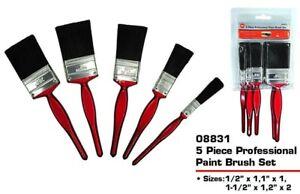 🔥5 Pack Paint Brush Fine Brushes Set Advanced Bristles Decorating DIY Painting