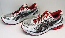 Asics GT-2170 Gel Mesh Road Running Shoes Mens Size 7.5 White Black Red T206N