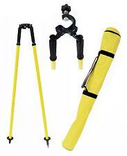AdirPro Prism Pole Bipod Thumb Release Range Yellow 760-02, Surveying, Topcon