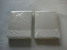 New Sealed Calvin Klein 2 Standard Pillow Sham Beige