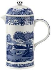 Spode Blue Italian cafetiere coffee pot
