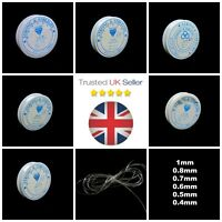 1 Roll Quality  Clear Stretch Jewellery Beading Elastic Cord Thread * PICK SIZE