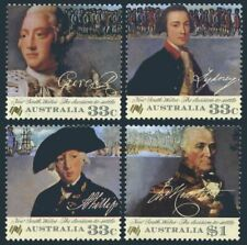 Australia 988-991,MNH.Michel 984-987. Australia-200,1986.George III,Navigators.