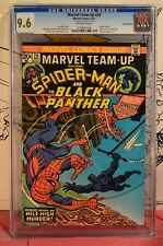 Marvel Team-Up #20 CGC 9.6 Spider-man Black Panther DOUBLE COVER Rare