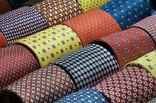 LOT 100 MIX SILK POLYESTER NECKTIES WHOLESALE TIE CRAFT QUILT LOTS BULK