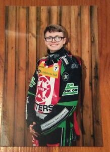 2018 WILLIAM O'KEEFE STOKE POTTERS SPEEDWAY PHOTOGRAPH   ( EXCELLENT CONDITION )