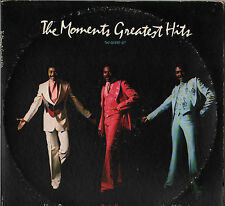 "THE MOMENTS ""GREATEST HITS"" SOUL FUNK DOUBLE LP 1977 STANG"
