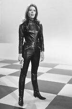 DIANA RIGG THE AVENGERS IN LEATHER 36X24 POSTER PRINT