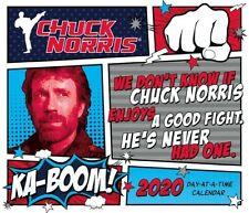 CHUCK NORRIS - 2020 DAILY DESK CALENDAR -  BRAND NEW - 200003