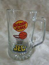 RARE Golden Flake Snack Food SEC Basketball Glass Mug 7