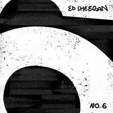 ED SHEERAN NO.6 COLLABORATIONS PROJECT 2 LP VINYL RECORD + FREE CD OR BADGE+ FOB