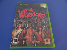 The Warriors Xbox Microsoft(Unlockable 2D Brawler Mini Game)