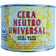 Cera Neutra Universal per Legno Marmo Parquet Stucco Veneziano Borma Wachs B4500