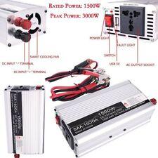 Solar Power Inverter 3000W Peak 12V DC To 110V AC Modified Wave Converter