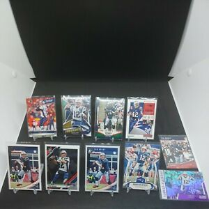 (Lot of 10) Different 2018, 2019Tom Brady Inserts & Premium Base Cards