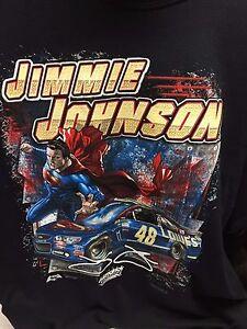 JIMMY JOHNSON SUPERMAN SHIRT #48 NWT