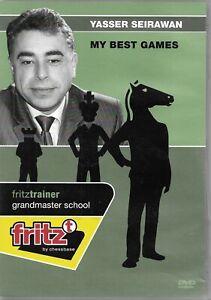 Yasser Seirawan My Best Games Fritztrainer by Chessbase on Chess DVD