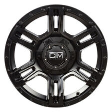 Black CTM offroad wheels 18x9 5/150 Toyota Landcruiser 100 200 series Sahara