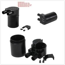 1 Pcs Billet Aluminum Alloy Reservior Black Oil Catch Can Tank for BMW N54 335