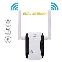 Répéteur WiFi jusqu'à 300 Mbps, amplificateur de signal WiFi, point d'accès