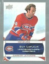2008-09 Upper Deck Montreal Canadiens Centennial #238 Guy Lafleur (ref49330)