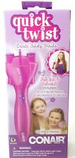 Brand New Conair Quick Twist Hair Braid Maker With Accessories Battery Operated