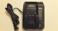 PORTER CABLE PCC691L 20V LITHIUM-ION BATTERY CHARGER FOR PCC682 PCC681 NEW