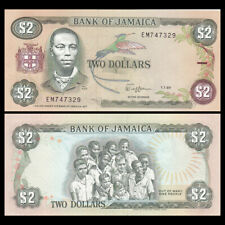 Jamaica 2 Dollars, 1989, P-69c, UNC