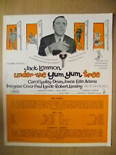 Columbia Picture Flyer- Jack Lemmon in UNDER THE YUM YUM TREE