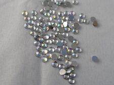 100 Glitzersteine  Rhinestones  Silber 4 mm  Shiny #2 Basteln Kartengestaltung