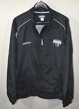 Manchester Monarchs Windbreaker Jacket LARGE CCM Black Hockey AHL ECHL Minors