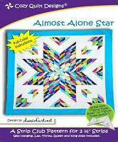 Almost Alone Star Quilt Pattern  - Cozy Quilt Designs Quilt Pattern