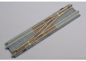 NEW Kato N Scale Double Track Single Crossover Left 20-230