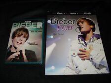 Justin Bieber DVD & Book