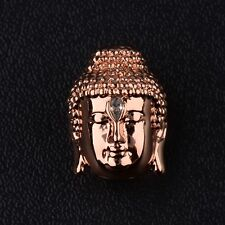 New Copper plating Gracious Buddha head Bracelet Connector Fashion Charm Beads