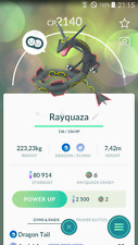 Pokemon Go Shiny Rayquaza