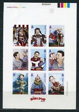 MONGOLIA 1998 'HOWDY DOODY'  SC#2349 PROGRESSIVE COLORS  SHEET 7 STAGES OF PRINT