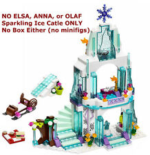 NEW INCOMPLETE LEGO FROZEN Elsa's Sparkling Ice Castle (NO MINIFIGS/BOX) 41062