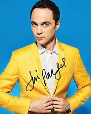 TBBT JIM PARSONS #1 10X8 PRE PRINTED (SIGNED) LAB QUALITY PHOTO - FREE DEL