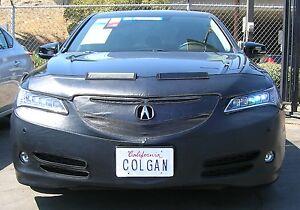 Colgan Front End Mask Bra 2pc. Fits Acura TLX Sedan & Tech Pack 15-17 W/Iicense