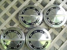 FORD GALAXIE FAIRLANE LTD POLICE PICKUP TRUCK HUBCAPS WHEEL COVERS CENTER CAPS