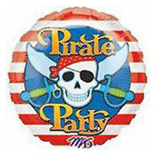 Party Supplies Decorations Boys Birthday Pirate Party 45 cm Foil Balloon