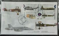 *Kengo* Canada stamp #1808 Canada's Air Force RCAF set of 4 FDC 2002 SEALED @E41