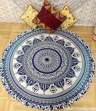 Roundie Hippie Round Mandala Tapestry Indian Cotton Beach Throw Towel Yoga Mat
